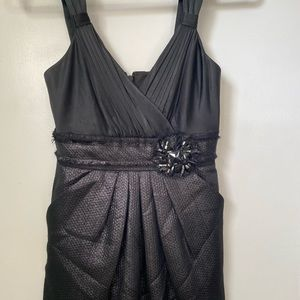 BCBG Maxazria Sleeveless Black Cocktail Dress